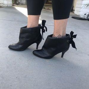 Jeffrey Campbell Black Booties Size 9
